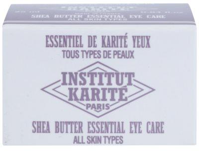 Institut Karité Paris Anti-Age krema za predel okoli oči z eteričnimi olji 3