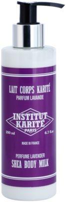 Institut Karité Paris Lavender nežno mleko za telo za prehrano in hidracijo