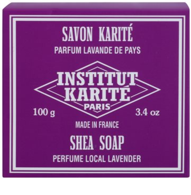Institut Karité Paris Lavender trdo milo z karitejevim maslom