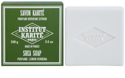 Institut Karité Paris Lemon Verbena jabón sólido para pieles sensibles