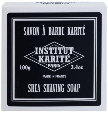 Institut Karité Paris Men borotválkozó szappan a benőtt szőrszálak ellen