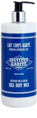Institut Karité Paris Milk Cream testápoló tej a táplálásért és hidratálásért