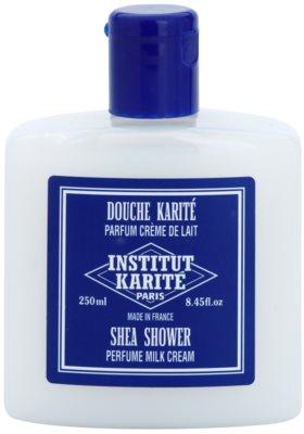 Institut Karité Paris Milk Cream feuchtigkeitsspendendes Duschgel für sanfte und weiche Haut