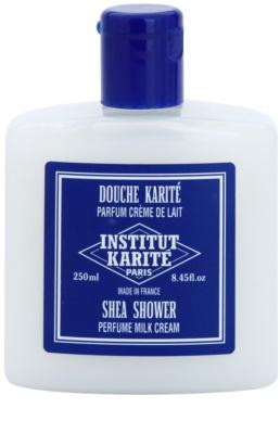 Institut Karité Paris Milk Cream hidratáló tusoló gél a finom és sima bőrért