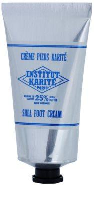 Institut Karité Paris Original creme de suavização para pés para pele seca e rachada