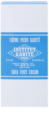 Institut Karité Paris Original омекотяващ крем за крака за суха и напукана кожа 2