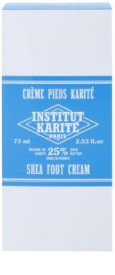 Institut Karité Paris Original zjemňující krém na chodidla pro suchou a popraskanou pokožku 2