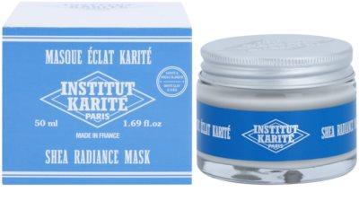 Institut Karité Paris Original aufhellende Hautmaske mit regenerierender Wirkung 2