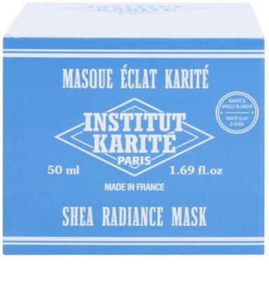 Institut Karité Paris Original aufhellende Hautmaske mit regenerierender Wirkung 3