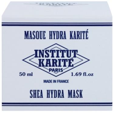 Institut Karité Paris Original Hydratisierende Maske mit regenerierender Wirkung 3