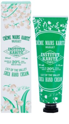 Institut Karité Paris So Chic Lily of the Valley crema hranitoare de maini 1