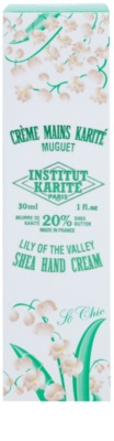 Institut Karité Paris So Chic Lily of the Valley crema hranitoare de maini 2