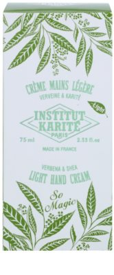 Institut Karité Paris So Magic Verbena & Shea crema ligera para manos 2