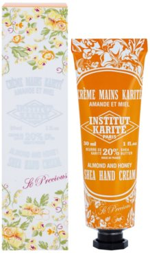 Institut Karité Paris So Precious Almond & Honey crema hranitoare de maini 1