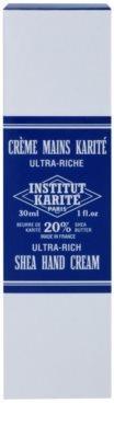 Institut Karité Paris Ultra-Rich výživný krém na ruky 2