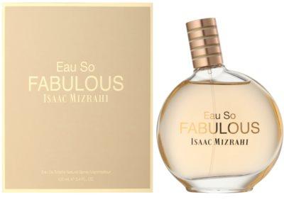 Isaac Mizrahi Eau So Fabulous Eau de Toilette für Damen
