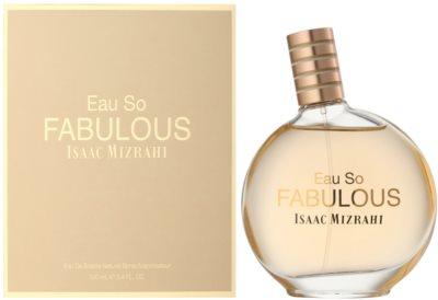 Isaac Mizrahi Eau So Fabulous Eau de Toilette pentru femei