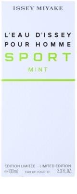 Issey Miyake L'Eau d'Issey Pour Homme Sport Mint toaletní voda pro muže 1