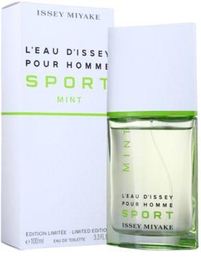 Issey Miyake L'Eau d'Issey Pour Homme Sport Mint toaletní voda pro muže 2