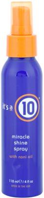 It's a 10 Plus Keratin spray capilar para cabelo brilhante e macio