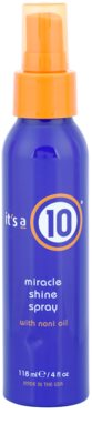 It's a 10 Plus Keratin spray paral cabello  para dar brillo y suavidad al cabello