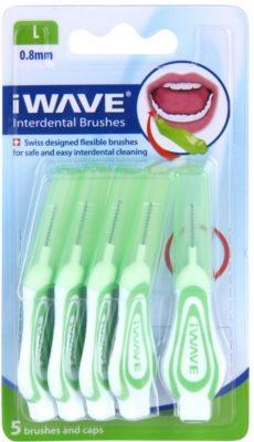 iWave Interdental Care escovas interdentais com tampa 5 peças