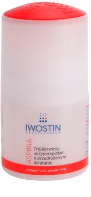 Iwostin Aspiria antitranspirante roll-on hidratante e com efeito calmante prolongado