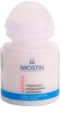 Iwostin Aspiria antitranspirante rool-on hidratante e calmante 1