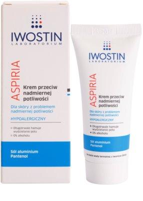 Iwostin Aspiria crema contra el exceso de sudor 1
