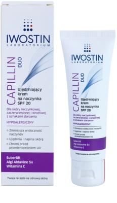 Iwostin Capillin Duo crema pentru intarirea venelor crapate SPF 20 1