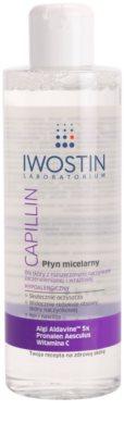 Iwostin Capillin agua micelar limpiadora para pieles sensibles con tendencia a las rojeces