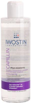 Iwostin Capillin reinigendes Mizellarwasser für empfindliche Haut mit der Neigung zum Erröten