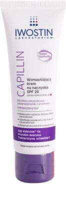 Iwostin Capillin crema reafirmante suave para combatir las venas agrietadas  SPF 20
