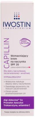 Iwostin Capillin lehký posilující krém na popraskané žilky SPF 20 2