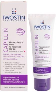 Iwostin Capillin зміцнюючий крем проти куперозу SPF 20 1