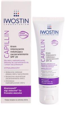 Iwostin Capillin intensive, Hautrötungen reduzierende Creme  SPF 20 1