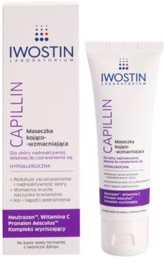 Iwostin Capillin pomirjajoča in krepilna maska za občutljivo kožo, nagnjeno k rdečici 1
