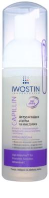 Iwostin Capillin čistilna pena za odstranjevanje ličil za občutljivo kožo z razširjenimi žilicami