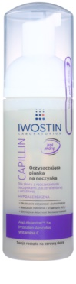 Iwostin Capillin espuma limpiadora desmaquillante para pieles sensibles con venas dilatadas