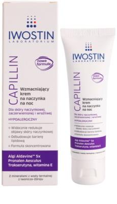 Iwostin Capillin posilňujúci nočný krém na popraskané žilky 1