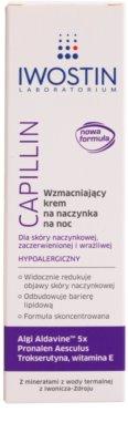 Iwostin Capillin posilňujúci nočný krém na popraskané žilky 2