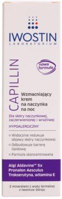 Iwostin Capillin crema restuaradora antivarices de noche 2