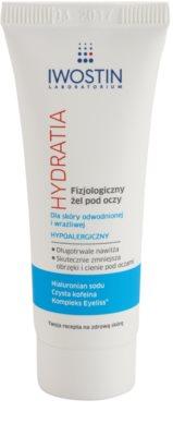 Iwostin Hydratia physiologisches Gel für empfindliche Haut zum Auftragen auf den Augenbereich