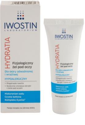 Iwostin Hydratia fyziologický gel na oční okolí pro citlivou pleť 1