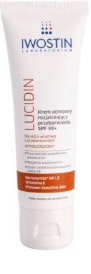 Iwostin Lucidin crema de protectie lucioasa impotriva petelor de pigment SPF 50+