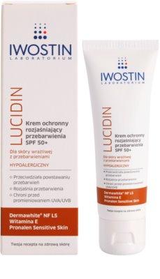 Iwostin Lucidin zosvetľujúci ochranný krém proti pigmentovým skvrnám SPF 50+ 1