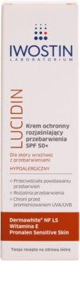 Iwostin Lucidin zosvetľujúci ochranný krém proti pigmentovým skvrnám SPF 50+ 2