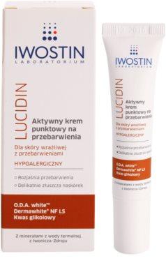 Iwostin Lucidin crema de día activa  contra problemas de pigmentación 1