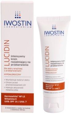 Iwostin Lucidin интензивен изсветляващ крем против пигментни петна 1