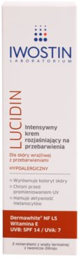 Iwostin Lucidin Intenzív bőrvilágosító krém a pigment foltok ellen 2